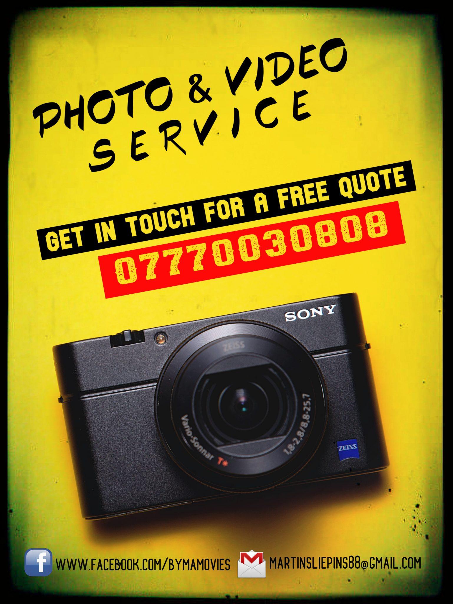 Photo & Video Service